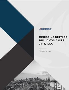 XEBEC LOGISTICS <br/> BUILD-TO-CORE JV I, LLC <br/> <span>INVESTMENT OVERVIEW</span>